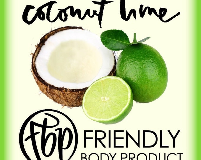 Soy Candle - Coconut Lime Candle, Soy Candle, Christmas Candle, Jar Candle, Gift for Her, Gift for Mom, Scented Candle, Handmade Candle