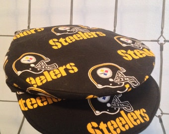 Steelers newsboy cap