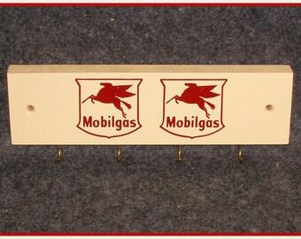 Mobilgas Key Ring Holder