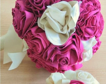 For a civil wedding bridal bouquet