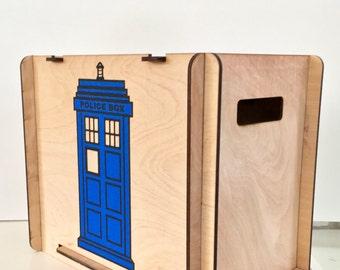TARDIS Comic Book Storage Box