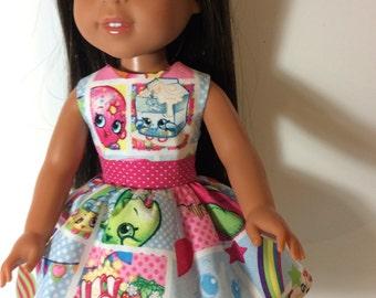 "14.5"" shopkins dress"