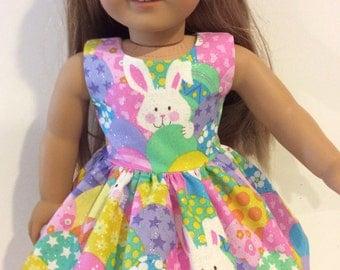 """18"""" glittery Easter dress"""