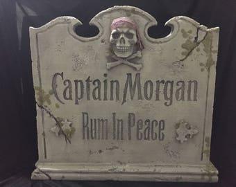 Captain Morgan / Pirate Gravestone