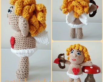 CUPID CROCHET PATTERN - Amigurumi pdf instant download