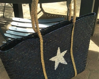 SALE* Seagrass Shopping Basket.