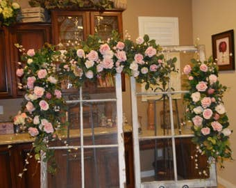 Wedding Arch, Floral Arch, Wedding Arch Decoration, Arch Flower , Wedding flower Chuppah flower, Peony Rose arch, Garden Fresh Arch,