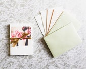 Travel & Flower Photography Greeting Cards/Note Cards | Set of 6