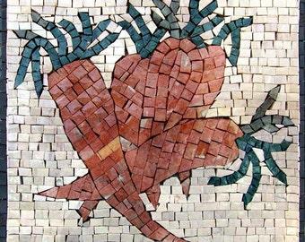 Mosaic Patterns- Carrots