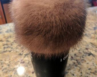Mink Fur Cup Cozy Sleeve