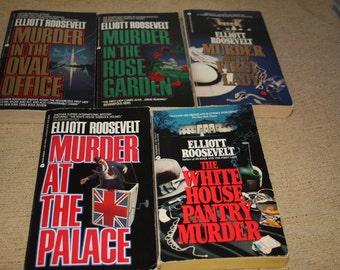 5 Elliot Roosevelt books / Elliot Roosevelt novels
