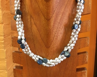 Freshwater Pearl and Kyanite