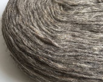 Roving wool Wool Pencil Roving Fiber Gray color