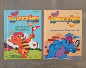 Children's Books, Wuzzles Children's Books, Lot of 2, 1984