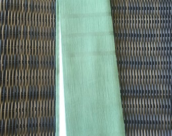 Reversible, green Clergy stole, simple and elegant!  Pastor stole, Minister stole for Ordinary time.  A perfect gift!