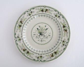 SALE Set of 9, Royal Doulton England Provencal China Salad Plates, Vintage Tableware