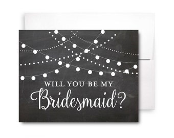 Bridesmaid Proposal Card, Will You Be My Bridesmaid Card, Bridesmaid Maid of Honor Gift, Matron of Honor, Brides Man, Flower Girl #CL103