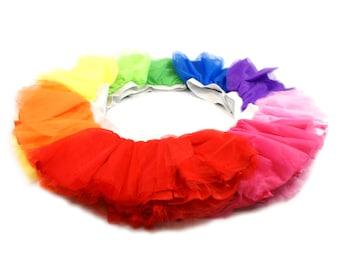 Kids Bulk Tutu Party Pack - Princess, Ballerina Dance, Run, Race Tutu - Choose QTY and Color Combination