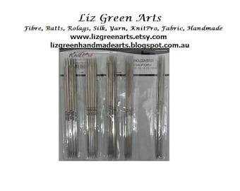 "KnitPro ""Nova Cubics"" Double Pointed Knitting Needles ~ 15cm Sock Needle Set 2.00mm - 4.00mm (US 0 - 6) Available At Liz Green Arts DPN"