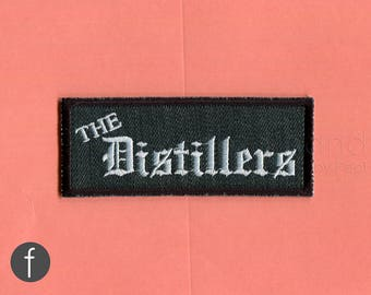 The Distillers Iron On Patch