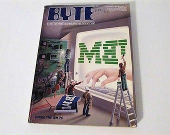 SALE!  Byte the small systems journal November 1983 Vol. 8 No. 11 Inside the IBM PC Vintage Computer Tech Magazine Catalog