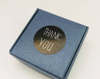 60 Thank You Labels, Wedding Favour Thank You Stickers, Envelope Seals