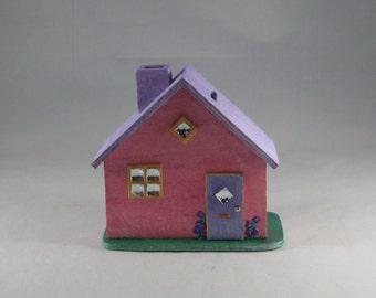 Money box fairy house, wooden house, children's gift, fairy gift, gift for her