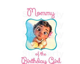 Instant Download, Digital File, Mommy, Mom, Birthday, Digital Image, DIY shirt Printable Iron On Transfer Sticker, Birthday Shirt image