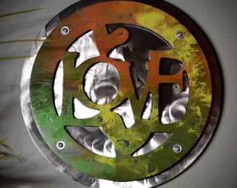 Love Round Wall Art
