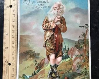 1894 McLaughlin Coffee Trade Card