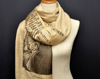 Little Women by  Louisa M. Alcott Shawl Scarf Wrap