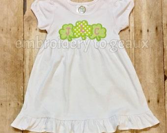 Girls St. Patrick's Day Dress, St. Patricks Day outfit, Girls St. Patrick's Day Shirt, St. Patrick's Day Shirts, St. Patrick's Day Dress