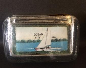 Souvenir Ocean City, Maryland Paperweight