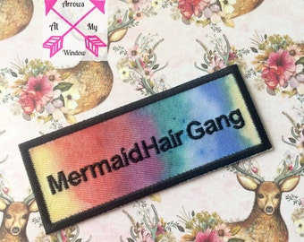 Mermaid Hair Gang patch, Mermaid Hair Gang, Mermaid Hair patch, Mermaid Hair,