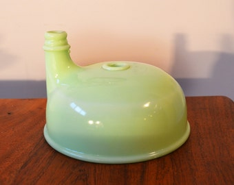 Vintage Jadeite Sunbeam Juicer replacement bowl, Attachment for Mixmaster stand mixer Mid Century Kitchen Tool