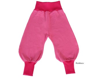 Bloomers * stripes pink - request size