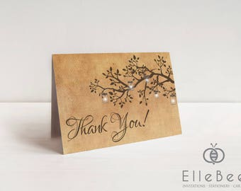 Vintage Wedding Thank You Cards // Antique Wedding Thank You Cards // Vintage Wedding // Antique Wedding // Poplar Collection // Elle Bee