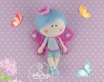 Little Princess and Little Butterfly  -  crochet pattern