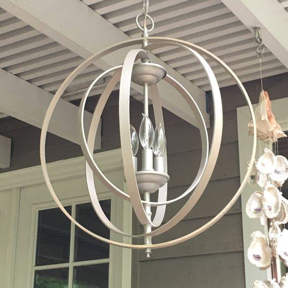 ORB CHANDELIER LIGHT 18 Industrial Light Fixture Pendant