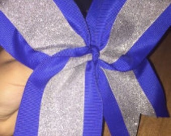 Glitter + Solid Bow