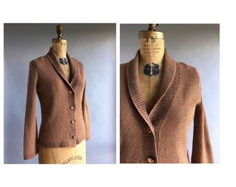 1970's Shawl Collar Cardigan