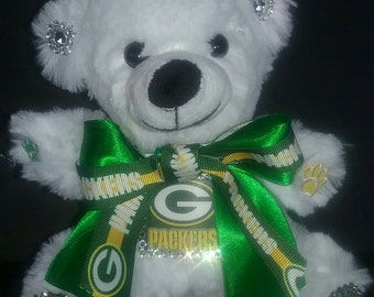 Green Bay Packers 6 in Custom Teddy Bear
