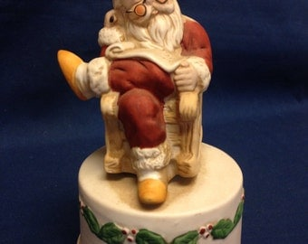 Santa Music Box - Great Gift Just in Time for Christmas
