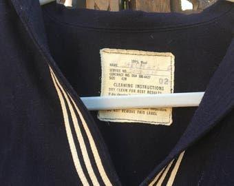 True Vintage Navy Sailor Shirt