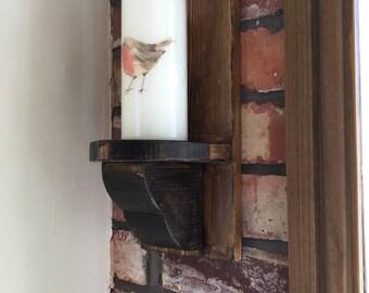 Gothic style candle holder
