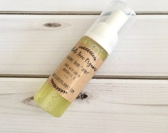 """Foaming Hand """"SANNY""""- Natural Germ Fighter - Hand Cleaner - Back to School - Cold & Flu Season"""