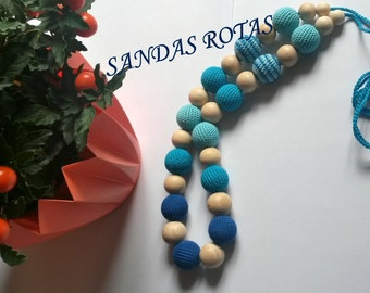 Nursing necklace, Teething necklace - gaming necklace