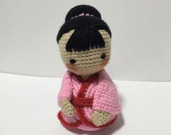 Crochet Japanese Girl