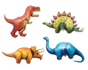 Dinosaurs Balloons, T Rex Balloons, Huge Animal Balloons,