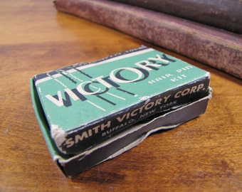 Vintage Box of Victory Hair Pins